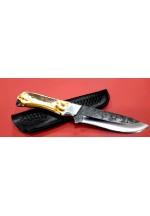 SBH4150 Sürmene elyapımı av bıçagı çelik d2.