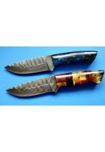 SBH4154 Sürmene elyapımı damassuz çeliğinden av bıçakları.