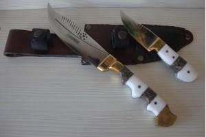 SBH4005 - Sürmene elyapımı av bıçakları 2li