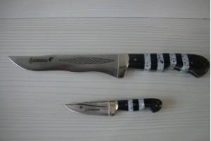 SBH4000 Sürmene elyapımı av bıçakları ikili.