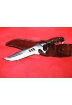 SBH4133 - Sürmene elyapımı muştallı av bıçağı.
