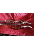 SBH4079 - Orjinal Geyik Boynuzu Saplı Hediyelik Sürmene Bıçağı