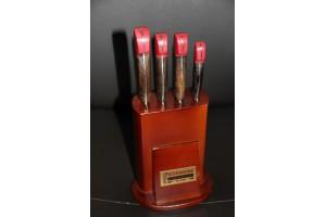 SBM1003 - Sürmene elyapımı 4 lü mutfak bıçak seti.