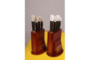 SBM1009  Sürmene elyapımı 4 lü mutfak bıçak seti.