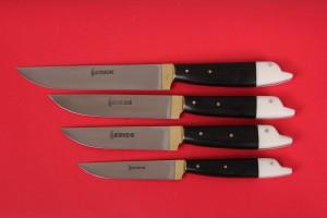 SBM1004 -  Sürmene elyapımı 4 lü mutfak bıçak seti.