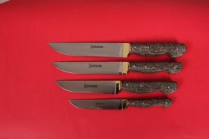 SBM1006 -  Sürmene elyapımı 4 lü mutfak bıçak seti.