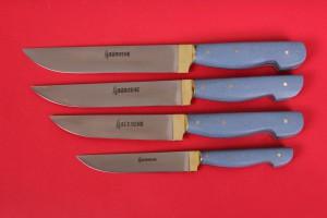 SBM1007 -  Sürmene elyapımı 4 lü mutfak bıçak seti.
