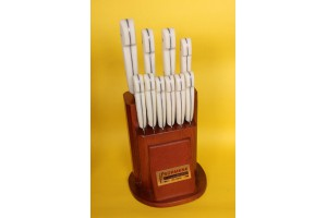 SBM1002 -Sürmene elyapımı 10 lu mutfa bıçak seti .