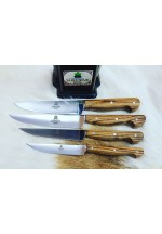 SBM1044 -   Sürmene elyapımı 4 lü mutfak bıçak seti.
