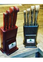 SBM1046 -   Sürmene elyapımı 4 lü mutfak bıçak seti