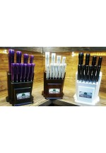 SBM1047 - Sürmene elyapımı 10 lu mutfak bıçak seti