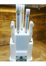 SBM1048 -   Sürmene elyapımı 7 li mutfak bıçak seti