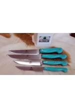 SBM1054 -   Sürmene elyapımı 4 lü mutfak bıçak seti
