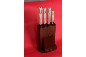 SBM1011 - Özel Beyaz Mutfak Set Bıçakları