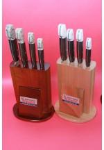 SBM1015 -  Sürmene elyapımı 4 lü mutfak bıçak seti.