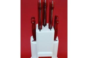 SBM1040 -Sürmene elyapımı 7 li mutfak seti koryon sap.