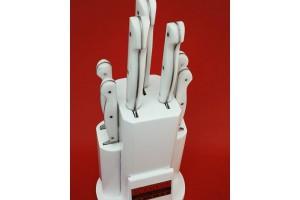 SBM1042 -  Sürmene elyapımı 7 li mutfak seti koryon sap.
