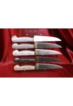 SBM1024 - Sürmene elyapımı mutfak et bıçak çeşitleri.