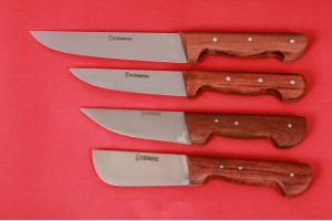 SBK2023 -Sürmene elyapımı kurban bıçak seti.
