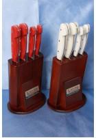 SBM1028 - Sürmene elyapımı 4 lü mutfak bıçak seti.