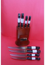 SBM1030 -  Sürmene elyapımı 4 lü mutfak bıçak seti.