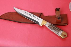 SBH4070 - Geyik Boynuzlu Avcı Bıçağı