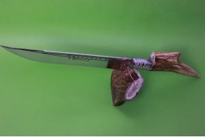 SBH4055 Sürmene elyapımı hediyelik geyikboynuzu bıcak.