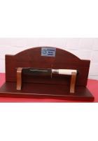 SBH4057 Sürmene elyapımı pafon işlemeli av bıçağı.