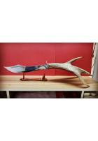 SBH4071 - Özel El Yapımı Geyik Boynuzu Kılıç
