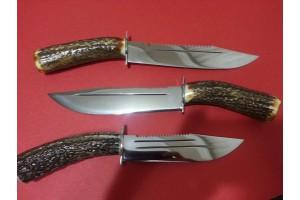 SBH4031 Sürmene elyapımı avcı bıçakları geyikboynuzlu.