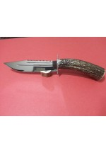 SBH4024 Sürmene elyapımı avcı bıçağı geyikboynuzlu