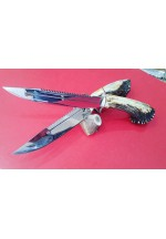 SBH4067 - Geyik Boynuzu Saplı Av Bıçağı
