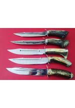 SBH4069 -  Geyik Boynuzu Saplı Avcı Bıçakları
