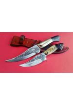SBH4127 - Sürmene elyapımı gravur işlemeli av bıçakları