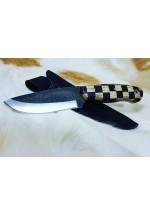 SBH4155-Sürmene elyapımı av bıçağı d2 çeliğinden.
