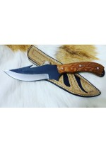 SBH4156-Sürmene elyapımı av bıçağı d2 çeliğinden.