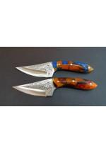 SBH4181-Sürmene El Yapımı Gravur İşlemeli Avcı Bıçağı