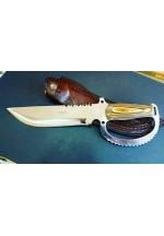SBH4185-Sürmene El Yapımı Avcı Bıçağı