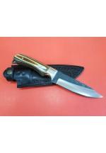 SBH4188-D2 Çeliğinden Sürmene El Yapımı Avcı Bıçağı