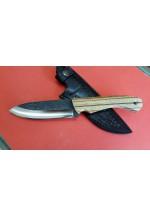 SBH4189-D2 Çeliğinden Sürmene El Yapımı Avcı Bıçağı