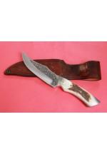 SBH4117 - Sürmene elyapımı gravur işlemeli av bıçakları