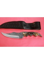 SBH4121 - Sürmene elyapımı gravur işlemeli av bıçakları