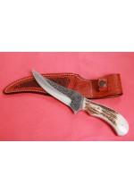 SBH4123 -Sürmene elyapımı gravur işlemeli av bıçakları