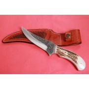 SBH4123 - Gravur İşlemeli Özel El Yapımı Avcı Bıçakları