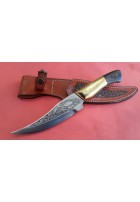 SBH4124 - Sürmene elyapımı gravur işlemeli av bıçakları
