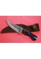 SBH4125 - Sürmene elyapımı gravur işlemeli av bıçakları