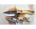 SBH4218-Sürmene Gravur İşlemeli Avcı Bıçağı